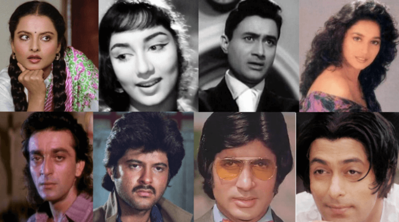 FAMOUS RETRO HAIRSTYLES OF BOLLYWOOD