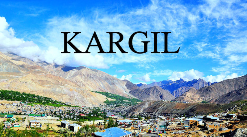 DON'T THINK KARGIL IS A WAR PLACE!!