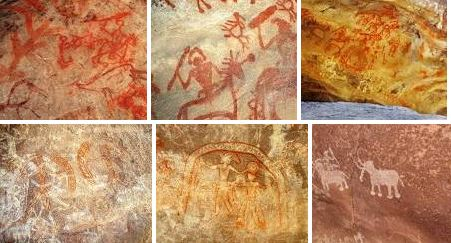 Rock Shelters and Cave Paintings of Bhimbetka
