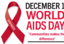 World AIDS Day 1st December 2020 Theme