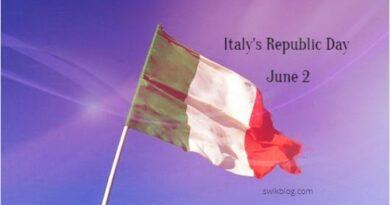 Republic Day in Italy (Festa Della Repubblica) 2020