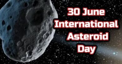 International Asteroid Day 2020 (30 June)-Why it is observed?