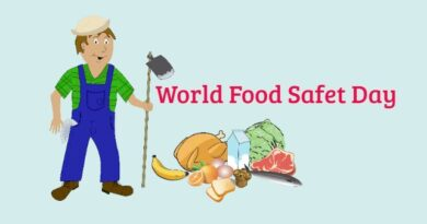 World Food Safety Day 2020-Theme and Objectives