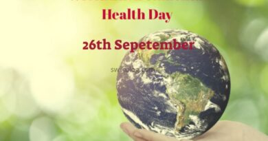 World Environmental Health Day 26th September 2020 Theme