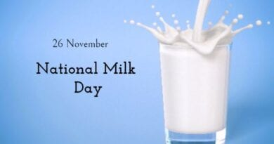 National Milk Day in India 26th November 2020